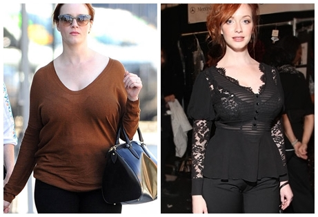 Christina Hendricks and her Mother Jackie Spotted Walking in Los Angeles